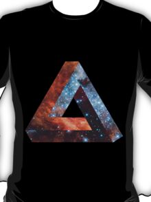 Impossible triangle galaxy T-Shirt