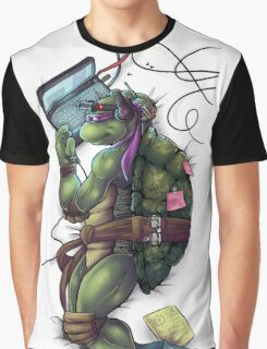 Life of a Teenage Turtle - Donnie Graphic T-Shirt