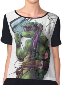 Life of a Teenage Turtle - Donnie Chiffon Top