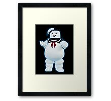Stay Puft Marshmallow Man - Ghostbusters Framed Print