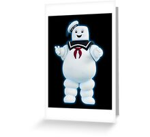 Stay Puft Marshmallow Man - Ghostbusters Greeting Card