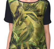 The Green Fairy Chiffon Top