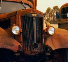 Trucks Under Smoke - Perris, CA Sticker