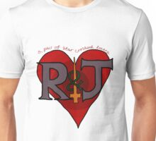 Romeo and Juliet - A Pair of Star Crossed Lovers Unisex T-Shirt