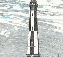 New Cape Henry Lighthouse by Stephany Elsworth