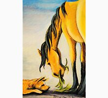 Australian Cattle Dog~Buckskin Horse~Friends~painting Unisex T-Shirt
