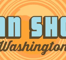 Ocean Shores - Washington State. Sticker