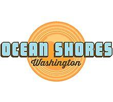 Ocean Shores - Washington State. Photographic Print
