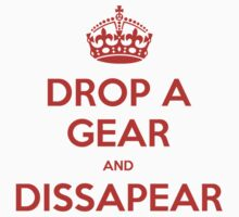 Drop a Gear and Dissapear w/ Crown by bikelifema