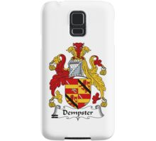 Dempster Coat of Arms / Dempster Family Crest Samsung Galaxy Case/Skin