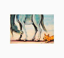 Australian Cattle Dog~Blue Horse~Friends~Painting Unisex T-Shirt