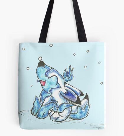 Ice Jackalope Leveret Tote Bag