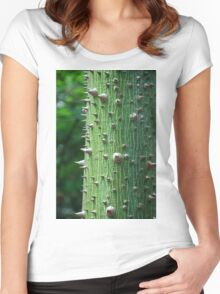 Kapok Tree Women's Fitted Scoop T-Shirt