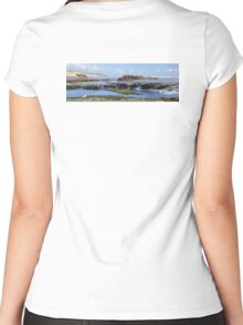 Rockpools Women's Fitted Scoop T-Shirt