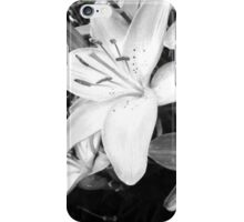 Black and White by Snow iPhone Case/Skin