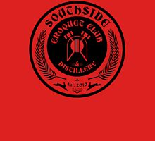 The Southside Croquet Club and Distillery Crest Unisex T-Shirt