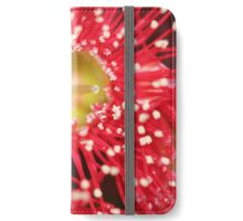 Red Gum Blossom iPhone Wallet/Case/Skin