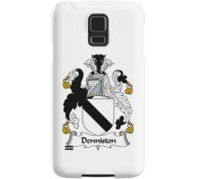 Denniston Coat of Arms / Denniston Family Crest Samsung Galaxy Case/Skin