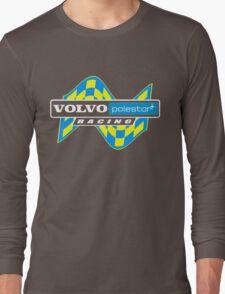 Volvo Polestar Racing Graphic WHT Long Sleeve T-Shirt