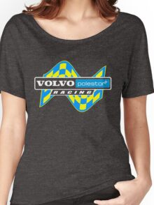 Volvo Polestar Racing Graphic WHT Women's Relaxed Fit T-Shirt