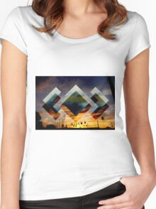 Adventure - Madeon Women's Fitted Scoop T-Shirt