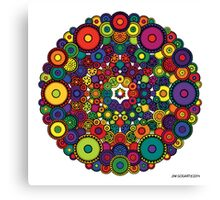 Mandala 39 - The Candy Edition Canvas Print