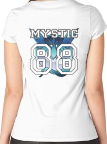 "Personal Mystic ""Jersey"" Women's Fitted Scoop T-Shirt"
