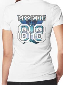 "Personal Mystic ""Jersey"" Women's Fitted V-Neck T-Shirt"