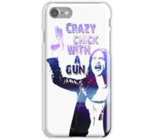 Wynonna Earp - Crazy Chick With A Gun iPhone Case/Skin