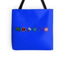 8 bit Avengers Tote Bag