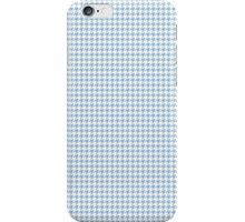 Classic Houndstooth in Airy Blue and White iPhone Case/Skin
