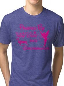 Love Dachshunds.! Tri-blend T-Shirt