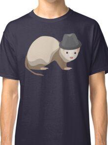 Ferret Wearing a Trilby Classic T-Shirt