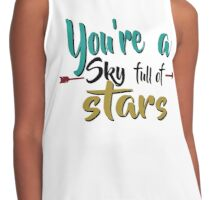 You're a Sky Full of Stars Contrast Tank