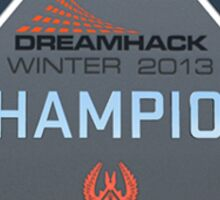 Dreamhack 2013 Champion Trophy Sticker
