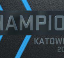 Katowice 2014 Champion Trophy Sticker
