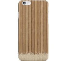 Wooden Floor Light Rug Texture  iPhone Case/Skin