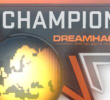 DreamHack 2014 Champion Trophy Sticker