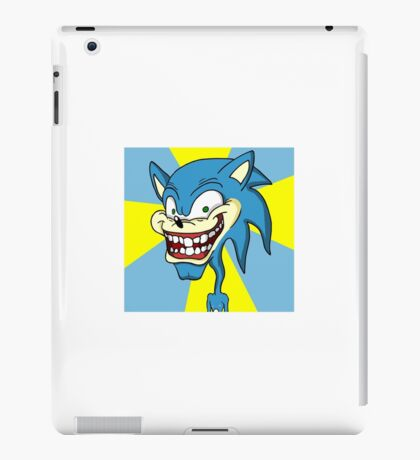 Creepy Sonic iPad Case/Skin
