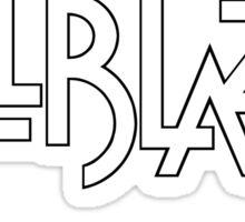 Hellblazer Logo - Black Sticker