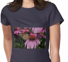 Monarch Magic... Womens Fitted T-Shirt