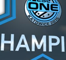 Katowice 2015 Champion Trophy Sticker