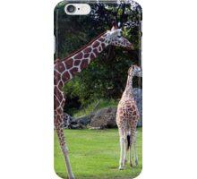 The Friendly Giraffe iPhone Case/Skin