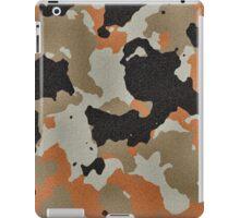 Fashion Orange Camouflage  iPad Case/Skin