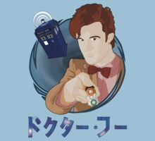 Anime Doctor Who One Piece - Short Sleeve