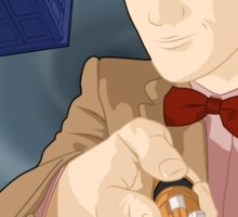 Anime Doctor Who Sticker
