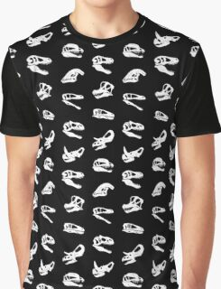 Dinosaur Skulls Graphic T-Shirt