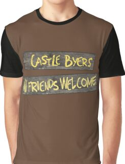 Castle Byers Graphic T-Shirt