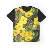 Shrubby Cinquefoil - Dasiphora fruticosa subsp. floribunda (Pursh) Kartesz Graphic T-Shirt