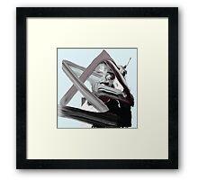 Geometric Armstrong Framed Print